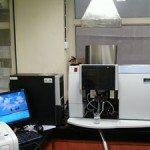 Atomic Absorption Spectrometer (AAS) testing lab