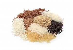 Varieties of Rice