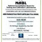 NABL Accreditation for Mechanical testing